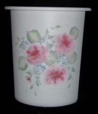Wastepaper Basket - Roses 2