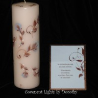 Custom Order - Unity Candle Personalized
