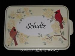 Cake Pan 16 - PERSONALIZED (Cardinals)
