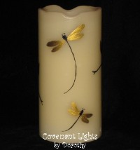 Memorial Candle - Flameless (Dragonflies-2 Those We Love)
