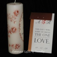 Custom Order - Unity Candle - Personalized