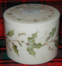 Christmas - Holly Candle