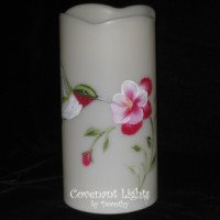 Memorial Candle - Flameless (Hummingbird)