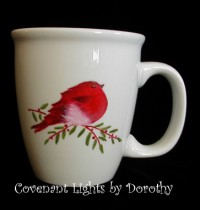 Coffee Mug - Red Bird