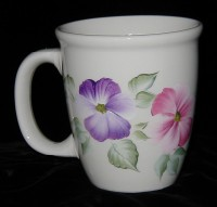 Coffee Mug - Pansies
