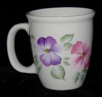 Coffee Mug - Pansies