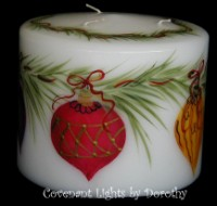 Christmas - Ornaments Candle