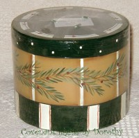 Christmas - Pines & Stripes Candle