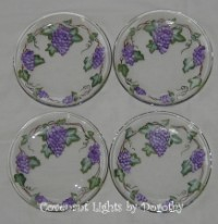 Custom Order - Grape Plates for Jim in MT