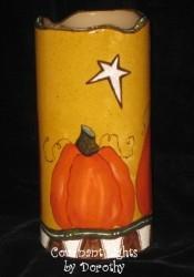 Primitive Pumpkin Candle