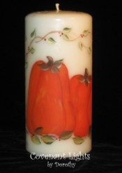Pumpkins and Vines Candle