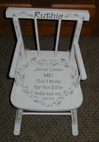 Vintage Rocking Chair for Granddaughter