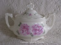 Custom Order - Sugar Bowl - Roses for Karen in NV