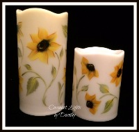 Sunflowers - Flameless LED candles
