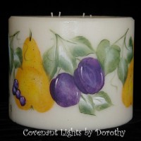 Fruit Candle